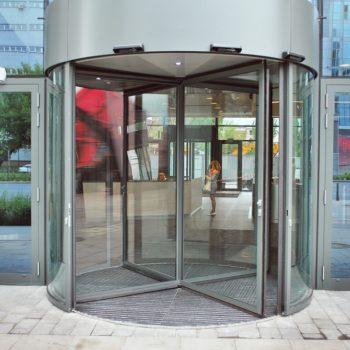 revolving door glass UK