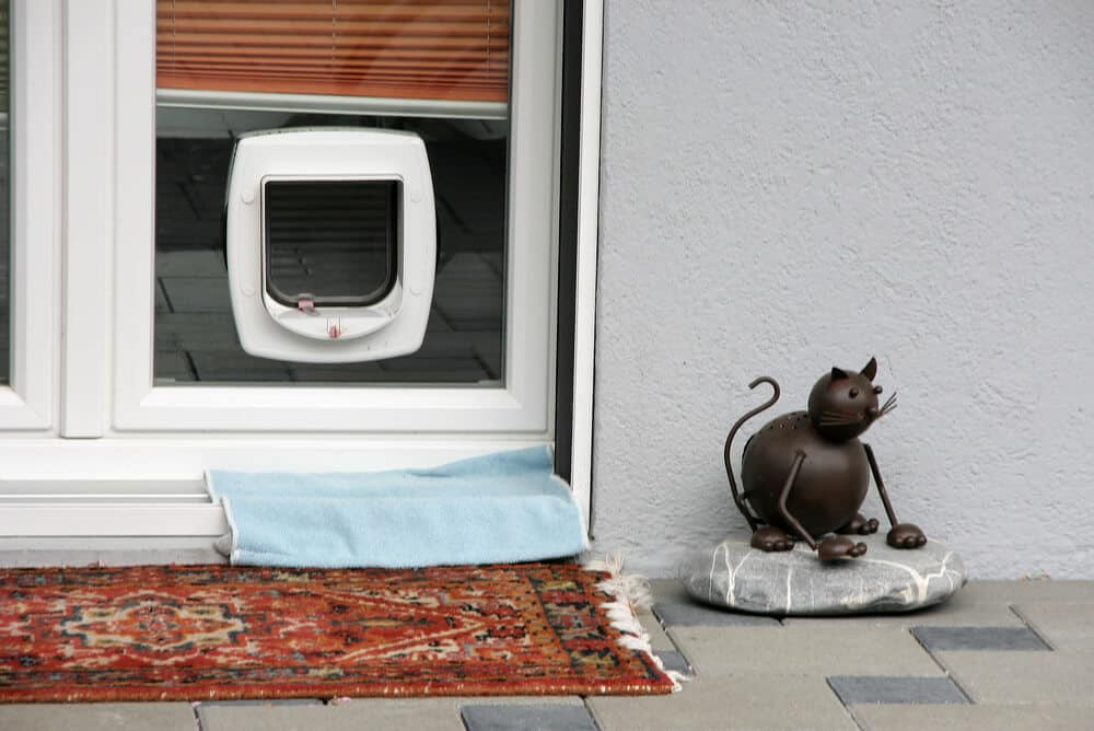 Looking for cat flaps dunstable glass bedfordshire for Upvc french doors with cat flap